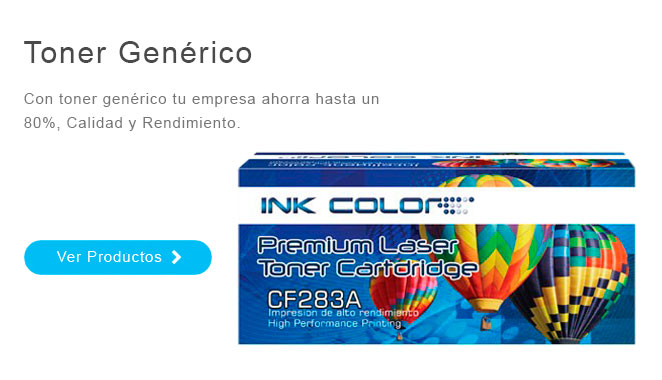 Toner Genérico Ink Color Suministros