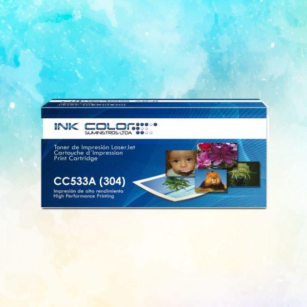 Toner Color HP Genérico CC533A (304)