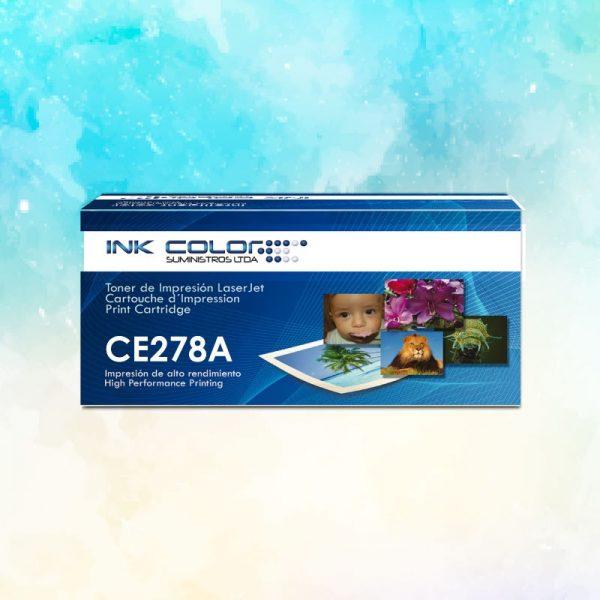 Toner HP Genérico CE278A ink color
