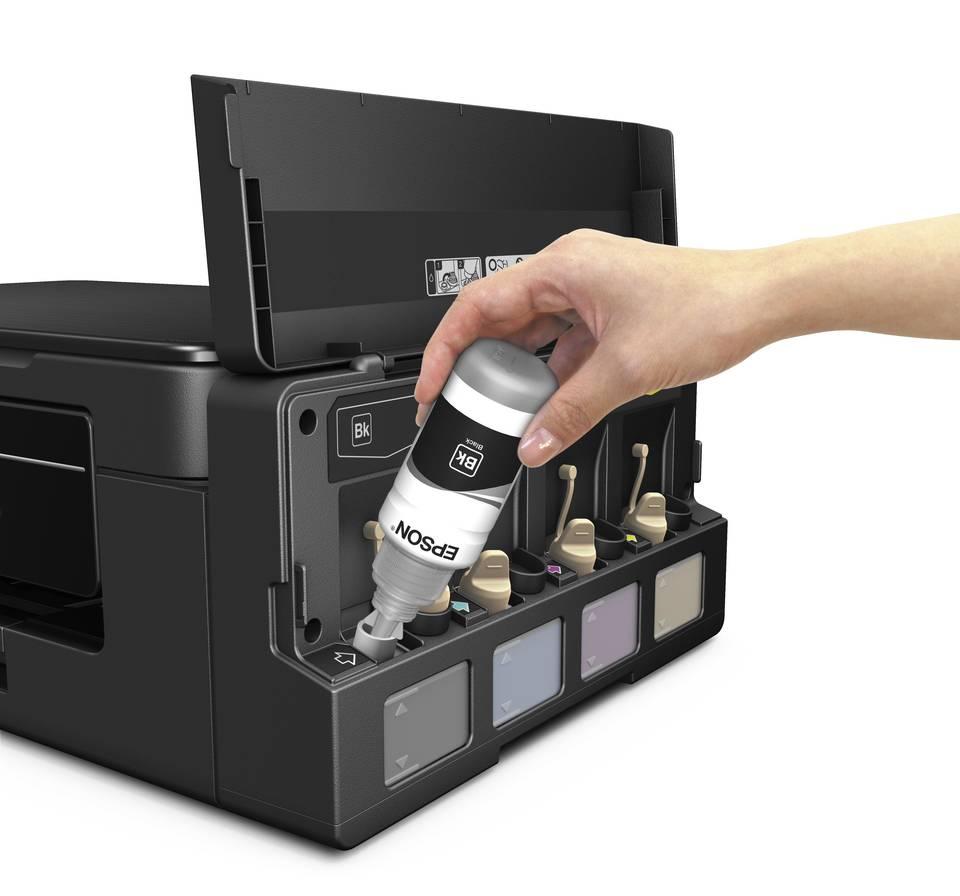 Impresora Epson Multifuncional Ecotank L395 Toner Y