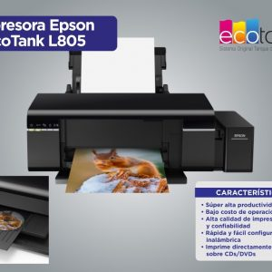 impresora epson l805 ink color